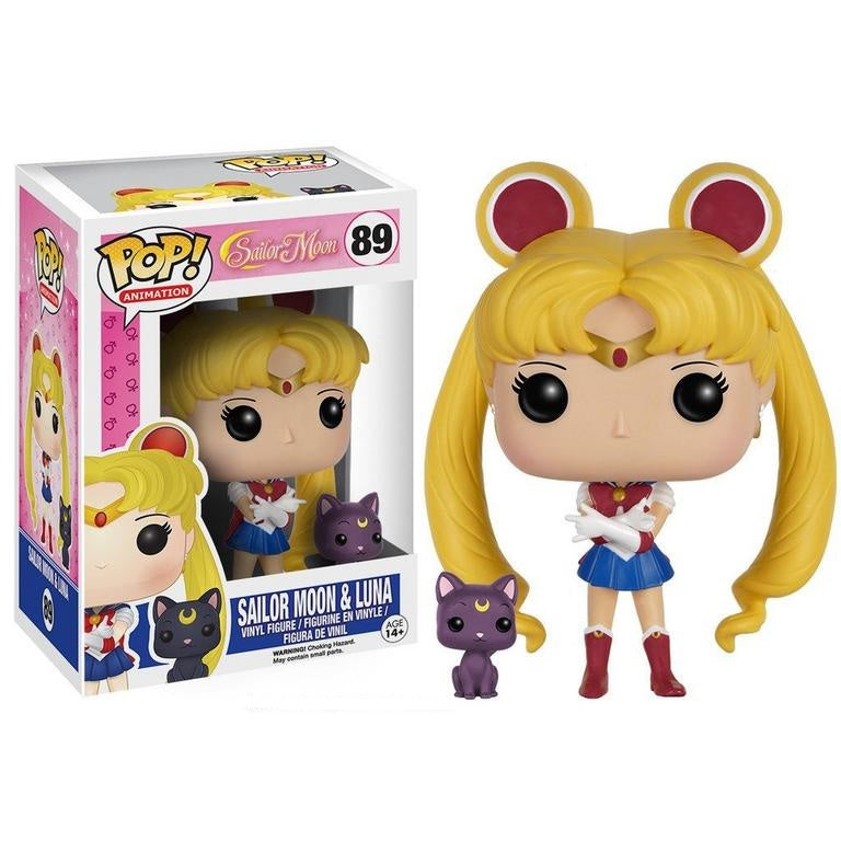 Funko POP! Animation: Sailor Moon - Sailor Moon and Luna