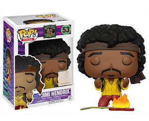 "Funko Pop Rocks Purple Haze Properties ""Jimi Hendrix"" #53 Poplife Exclusive Mint"