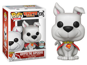 "Funko Pop ""Krypto The Superdog"" #235 Specialty Series Mint"