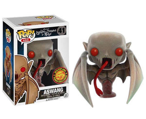 "Funko Pop Asia Legendary Creatures and Myths ""Aswang"" FLOCKED #41 Exclusive Mint"