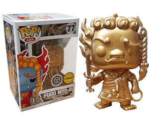 "Funko Pop Asia Legendary Creatures & Myths ""Fudo Myo-O"" GOLD #77 Chase Mint"