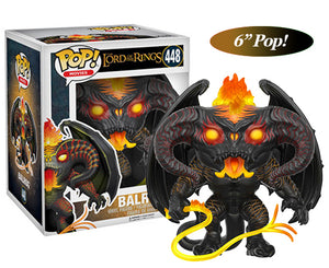 "Funko Pop 6"" Lord of the Rings ""Balrog"" #448 Mint"