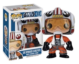 "Funko Pop Star Wars ""Luke Skywalker (X-Wing Pilot)"" #17 Mint Vaulted"