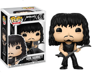 "Funko Pop Metallica ""Kirk Hammett"" #59 Mint"