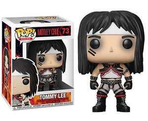 "Funko Pop Motley Crue ""Tommy Lee"" #73 Mint"