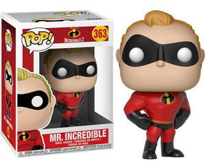 "Funko Pop Disney Pixar Incredibles 2 ""Mr. Incredible"" #363 Mint"