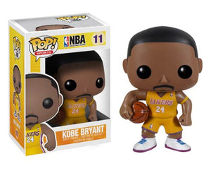 "Funko Pop NBA ""Kobe Bryant"" 24 Home Jersey #11 Vaulted Mint"