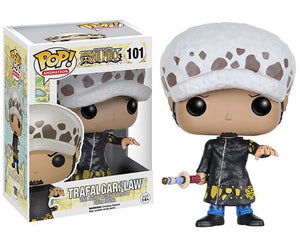 "Funko Pop One Piece ""Trafalgar Law"" #101 Mint"