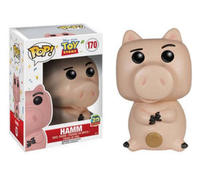 "Funko Pop Toy Story ""Hamm"" #170 Vaulted Mint"