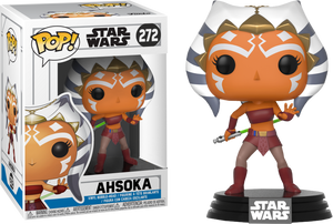Funko Pop! Star Wars Ahsoka #272 (Action Pose) Special Edition Sticker Exclusive