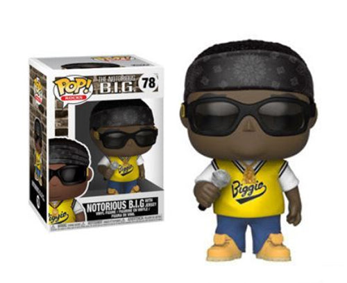 Funko Pop The Notorious B.I.G With Jersey #78 Mint