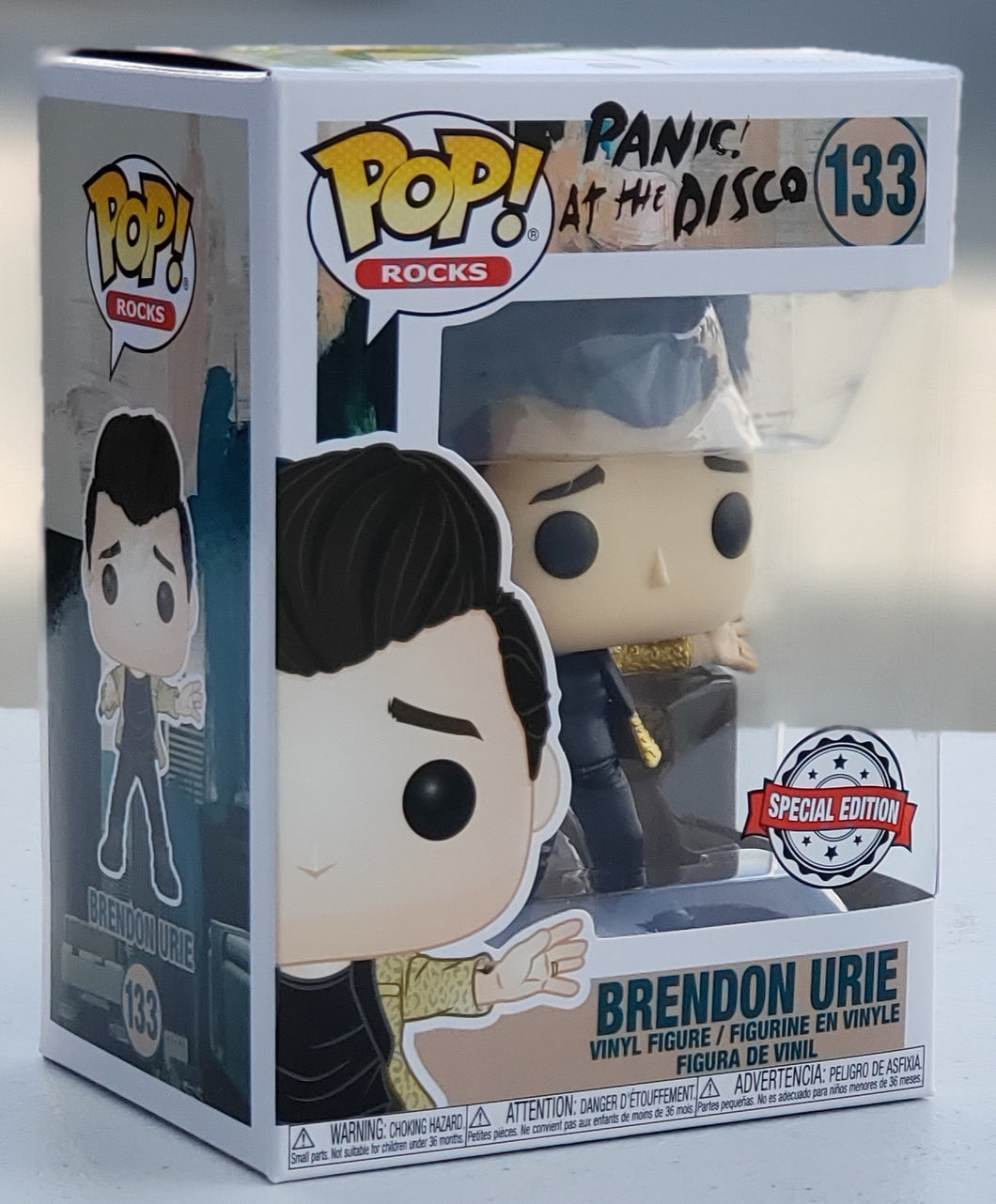 Funko Pop Rocks Panic at the Disco Brendon Urie Special Edition Exclusive (Hot Topic)