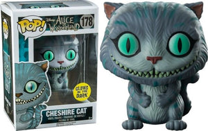 Funko Pop Alice in Wonderland Cheshire Cat Glow in the Dark Special Edition Sticker