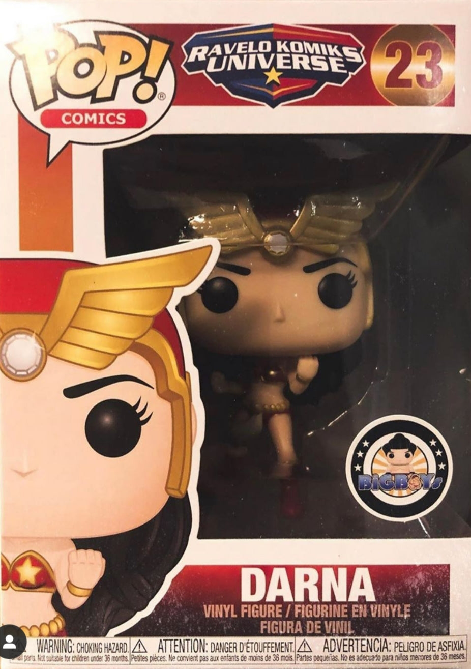 Funko Pop Ravelo Komiks Universe Darna Big Boy Exclusive Mint