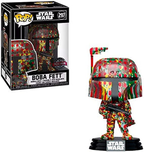Funko POP Star Wars: Futura x Boba Fett Special Edition (Target) In Stock