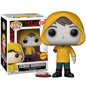"Funko Pop IT ""Georgie Denbrough with Broken Arm"" #536 Chase Mint"