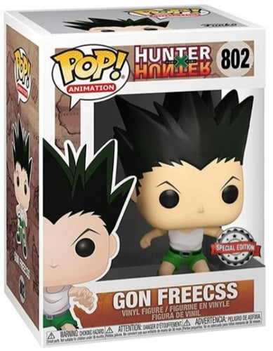 Funko Pop Hunter X Hunter Gon Freecss Special Edition Sticker (Hot Topic) In Stock