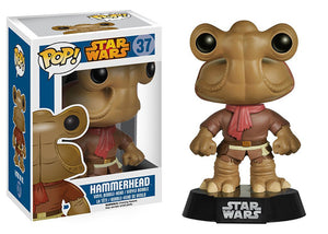 "Funko Pop Star Wars ""Hammerhead""#37 Mint Blue Box"