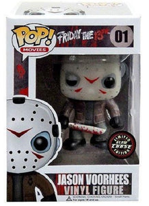 "Funko Pop Friday The 13th ""Jason Voorhess"" #01 Glow Chase Mint"