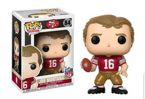Funko Pop SF Joe Montana IN STOCK Now