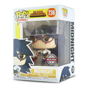 Funko Pop My Hero Academia Midnight Special Edition Sticker (Galactic Toys) IN STOCK