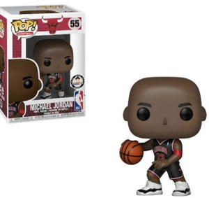~SDCC Sale Week~ Funko NBA Pop Michael Jordan Black Jersey Big Boy Exclusive