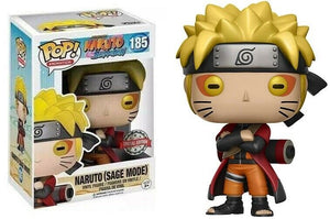 Funko Pop Naruto Sage Mode Special Edition Exclusive