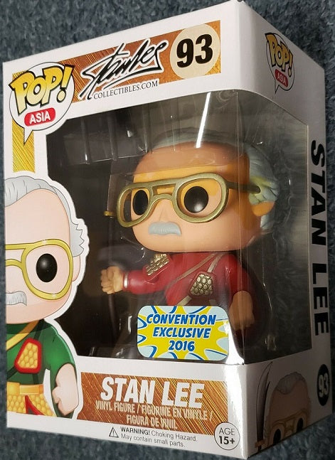 Funko Pop! Asia Stan Lee #93 Red Guan Yu 2016 Convention Exclusive