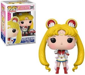 Funko Pop SUPER Sailor Moon #331 Crisis Outfit Special Edition Sticker