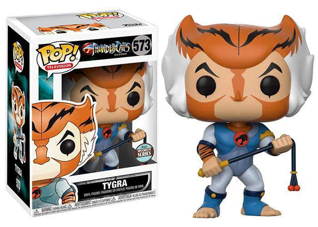 Funko Pop ThunderCats Classic Tygra #573 Specialty Series Exclusive Mint