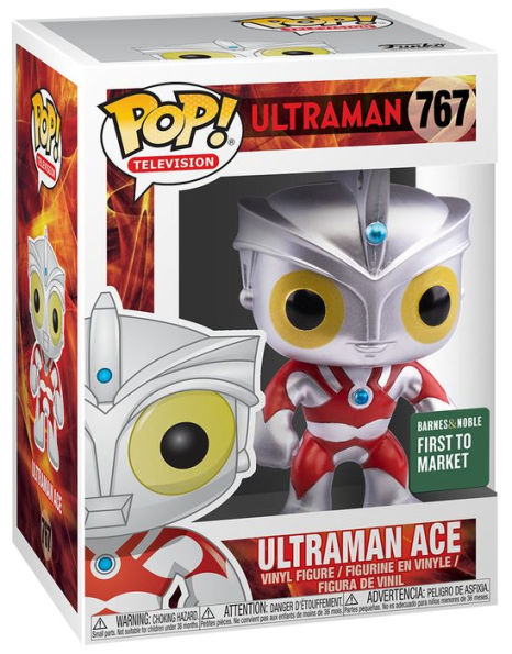 Funko Pop Ultraman Ace Barnes & Noble Exclusive First to Market