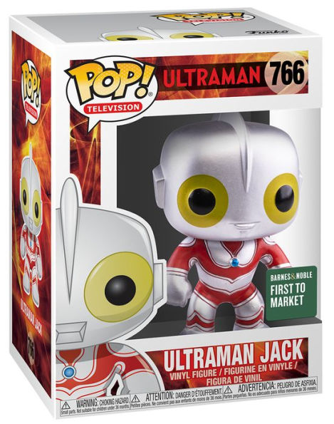Funko Pop Ultraman Jack Barnes & Noble Exclusive First to Market