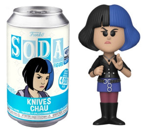 Funko Pop Soda Can Knives Chau Wonder Con Exclusive Sealed