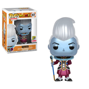 Funko POP DBZ SDCC Metallic Whis Exclusive
