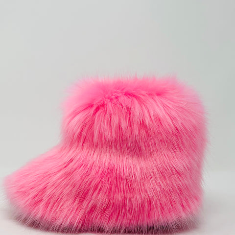 Pinkie Faux Fur Boots