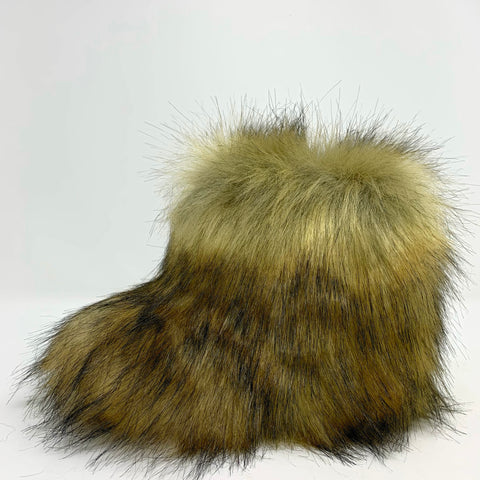 Little Grizzly Faux Fur Boots