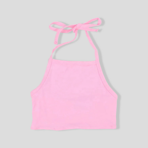 Pretty in Pink Halter