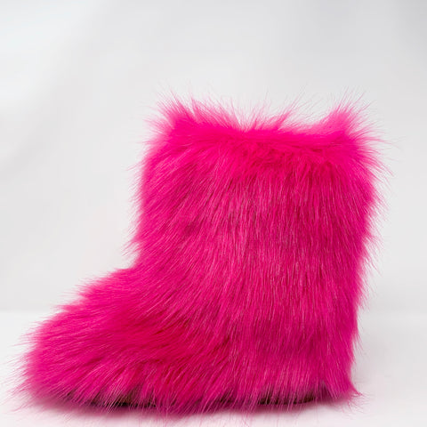 Poppy Faux Fur Boots
