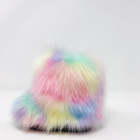 Unicorn Faux Fur Boots