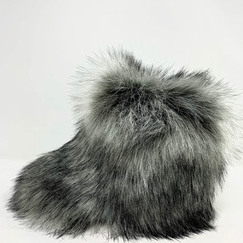 Little Frosty Faux Fur Boots
