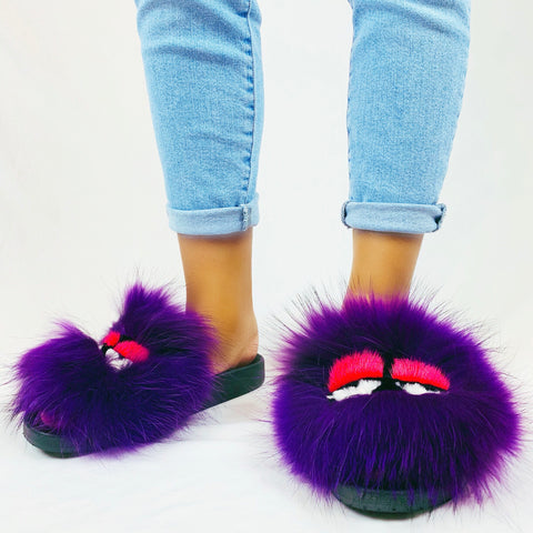Purple Monster Slides