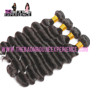 Loose Deep Wave 3 Bundle + Closure/Frontal Package
