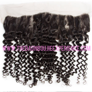 Curly 3 Bundle + Closure/Frontal Package