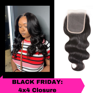 Black Friday Sale: 4x4 Closure