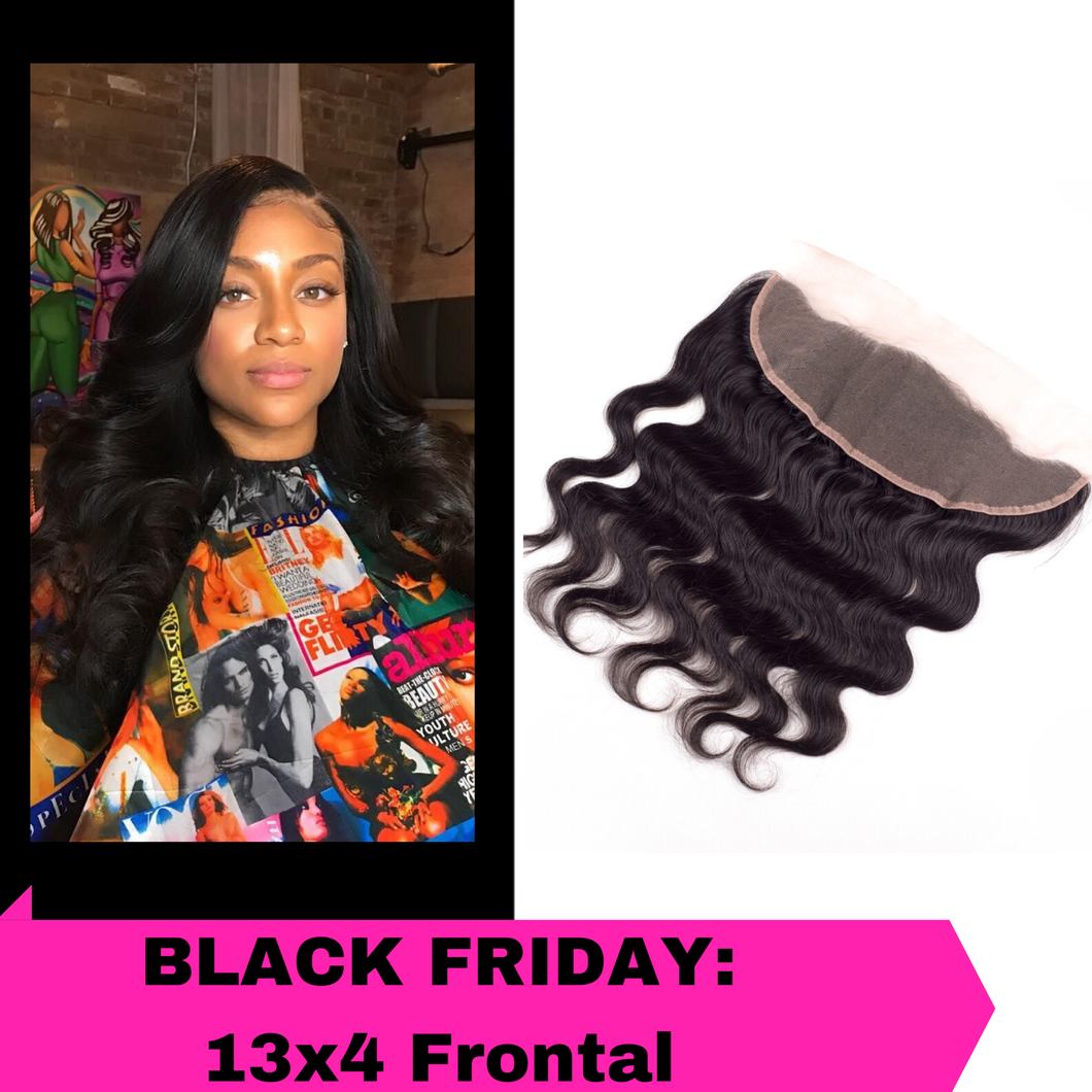 Black Friday Sale: 13x4 Frontal