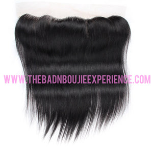 Straight 3 Bundle + Closure/Frontal Package