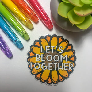 Let's Bloom Together
