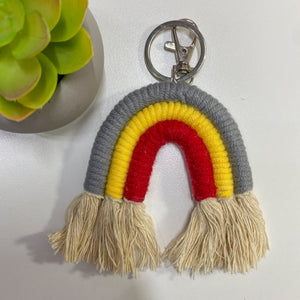 Boho Rainbow Key Chain