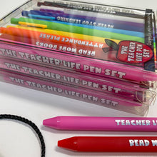 Load image into Gallery viewer, The Teacher Life Pen Set
