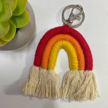 Load image into Gallery viewer, Boho Rainbow Key Chain